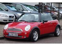 2005 05 MINI CONVERTIBLE 1.6 ONE 2D 89 BHP