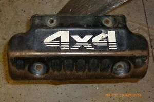 Yamaha Kodiak engine guard - skid plate