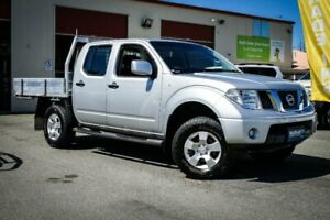2014 Nissan Navara D40 S8 RX Silver 5 Speed Automatic Cab Chassis