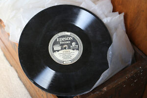 Antique Edison Diamond Disc Payer and Records, Man Cave Quality London Ontario image 3