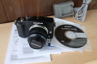 olympus e-pl2 micro 4/3 camera with 14-42 kit lens