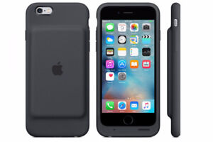 iPhone 6 16G Black with Apple Smart Battery Case - Rogers