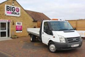 2009 FORD TRANSIT 350 TDCI 115 LWB 'ONE STOP' ALLOY DROPSIDE DRW RWD DROPSIDE DI