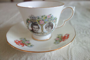 Charles & Lady Wedding Teacup & Saucer Set 1981