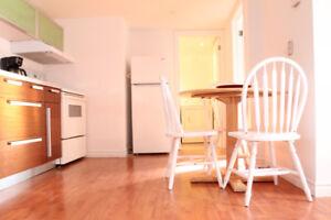 3 1/2 rénové et meublé. Pied à terre près de Montréal