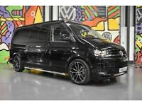 2016 VW TRANSPORTER LWB 4BERTH CAMPER 2.0BITDI 204PS DSG LV SPORTLINE PACK BLACK