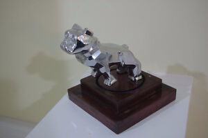 Mounted Chrome Mack Truck Bulldog Hood,Desk Ornament Paperweight London Ontario image 1