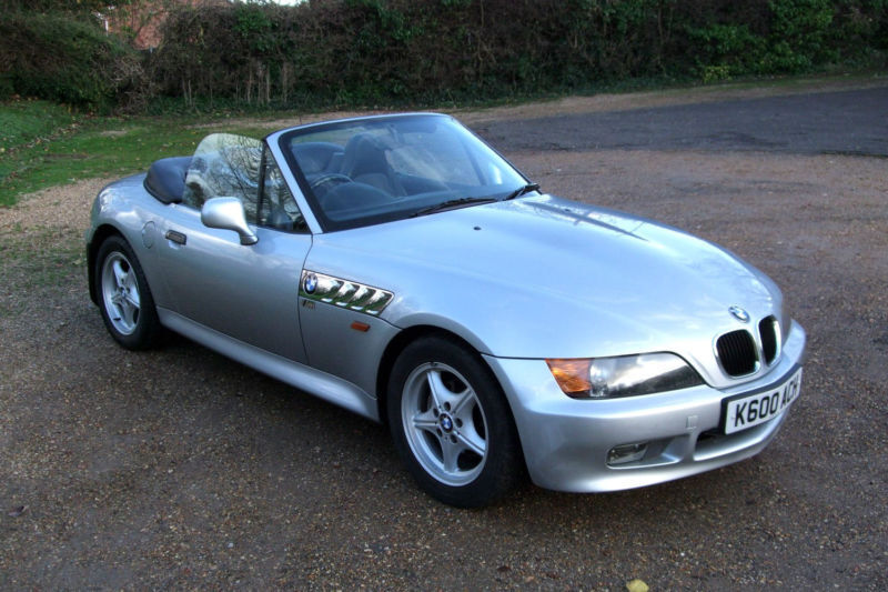 Bmw z3 1 9 roadster convertible 140hp m badged chrome line for Chrome line exterieur bmw