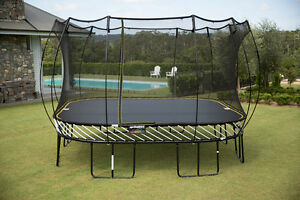 Spring free Trampoline 8' by 11' for sale