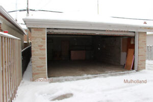 Private Garage for Rent -- Large, two car parking or storage