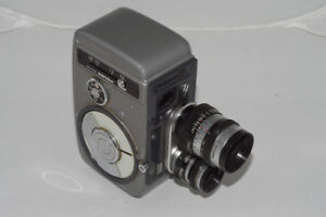 Yashica 8T-2 8mm Movie Camera with Two Lenses