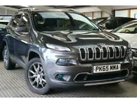 2015 Jeep Cherokee 2.2 M-JET II LIMITED 5d 197 BHP Estate Diesel Automatic