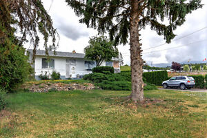 Privacy and Possibilities Plus!  3 bdrm 2 bath North Glenmore!