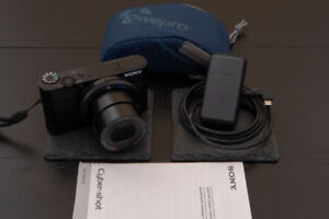 Sony RX100 MK1 20.2MP Camera with Case and 64GB Memory Card