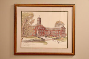 limited edition print by Evelyn Schmidt, Dalhousie University