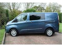 2018 Ford Transit Custom 300 Limited Dciv L1 H1 Crew Van Diesel Manual