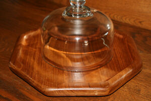 Baribo-Maid Wooden Nut Bowl/ Wooden Cheese Tray Belleville Belleville Area image 6