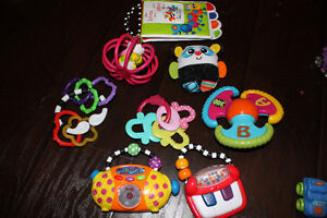 Fischer Price Phone & Baby Toy Lot
