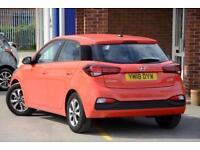 2018 Hyundai i20 1.2 SE (84 PS) (ISG) Petrol red Manual
