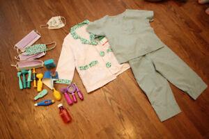 Ultimate doctor and nurse dress-up costume set