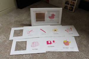 Baby's firsts picture frame