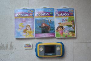 mobigo avec 4 jeux