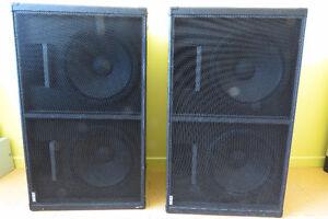 Hauts-parleurs et amplificateurs