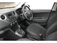 2017 Hyundai i10 1.2 SE Petrol red Automatic