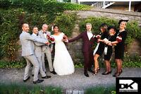 PHOTOGRAPHE OU VIDÉOGRAPHIE PROFESSIONNEL POUR MARIAGE 399$
