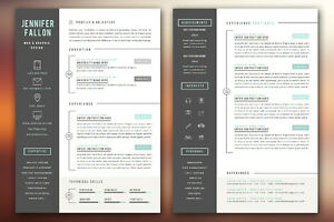 Custom design multiple pages resume