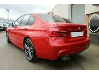 2016 RED BMW 335D 3.0 XDRIVE M SPORT DIESEL AUTO SALOON CAR FINANCE FR £305 PCM