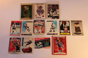 13 - GRETZKY  Hockey Cards  (VIEW OTHER ADS)  13 Cards