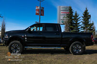 2015 RAM 3500 LARAMIE LEVELING KIT & MADE FOR THE AUTO SHOW !!