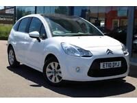 2010 CITROEN C3 1.4i VTR+ PAN W SCREEN, BLUETOOTH, ALLOYS and CRUISE