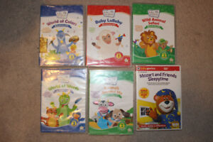 DVD's! Baby Einstein Discovery Kits, $4.00 each $16.00 for all