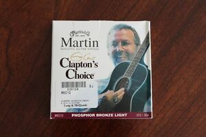 Martin & Co. Clapton's Choice Guitar Strings