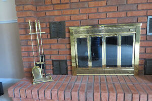 Fireplace Grate and Accessories