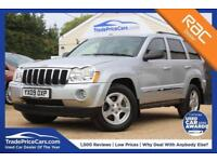 2009 09 JEEP GRAND CHEROKEE 3.0 V6 CRD LIMITED 5D 215 BHP DIESEL