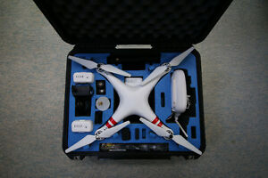 DJI PHANTOM 2 | GoPro Hero 3 Black- $2,580 value- MINT Condition