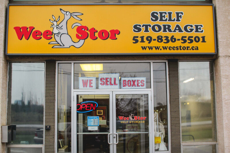 WEE STOR SELF STORAGE | Moving & Storage | Guelph | Kijiji