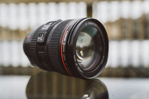 Canon 24-105mm IS USM f4.0L Lens - Great Quality