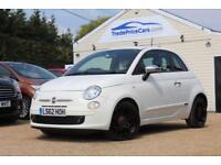 2012 62 FIAT 500 1.2 STREET 3D 69 BHP