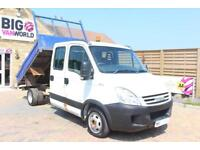 2007 IVECO DAILY 35C12D CRC 3450 MWB DOUBLE CAB 7 SEAT TIPPER TIPPER DIESEL