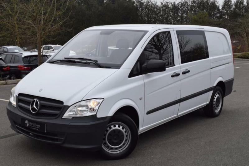 2013 13 mercedes benz vito 2 1 113 cdi 0d 136 bhp dualiner for Mercedes benz two seater
