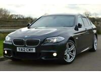 2012 BMW 5 Series 2.0 520d BluePerformance M Sport 4dr Saloon Diesel Automatic