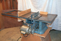 Table saw with stand and motor   West Island