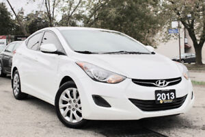 2013 Hyundai Elantra GL - Accident Free - Certified - One Owner