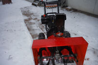 10 H.P.   27 IN.  SNOWBLOWER DUAL STAGE