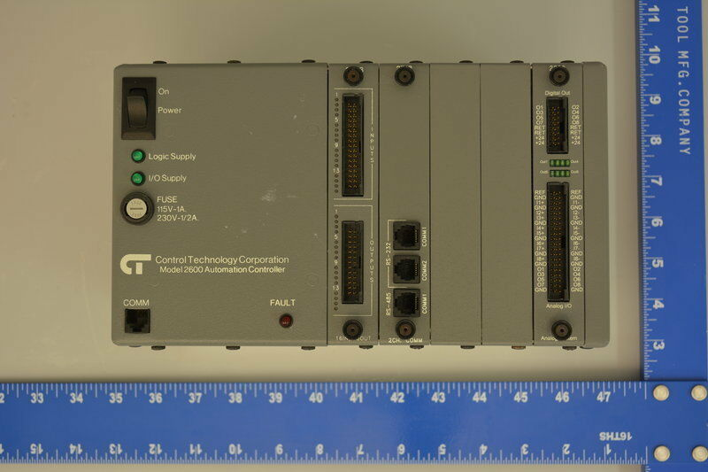 Control Technology Corporation (CTC) | 2600XM, Automation Controller w/ I/O & Co
