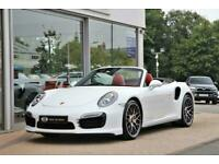 2014 Porsche 911 3.8T 991 Turbo S PDK 4WD 2dr Convertible Petrol Automatic